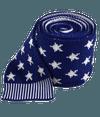 North Star Knit Blue Tie