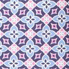 Moroccan Tile Light Cornflower Tie