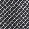 Textured Checks Black Tie