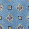 Excalibur Medallion Slate Blue Tie