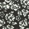 Serpentine Floral Black Tie