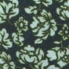 Serpentine Floral Deep Green Teal Tie