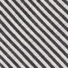 Draft Stripe Black Tie