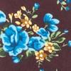 Hinterland Floral Deep Burgundy Tie