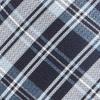 Narrative Plaid Navy Tie