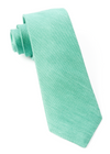 Sand Wash Solid Kelly Green Tie