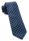 Dotted Dots Navy Tie