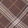 Marshall Plaid Brown Tie
