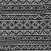 Texcoco Horizontal Stripe Black Tie
