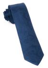 Twill Paisley Navy Tie