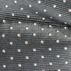 Mini Dots Charcoal Bow Tie
