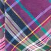 Paramount Plaid Magenta Bow Tie