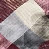 Pitch Plaid Burgundy Bow Tie