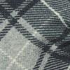 Merchants Row Plaid Grey Bow Tie