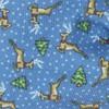Christmas Fleet Serene Blue Bow Tie