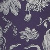 Floral Swell Eggplant Bow Tie