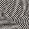 Cotton Glen Plaid Black Bow Tie