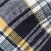 Rnr Plaid Classic Navy Bow Tie
