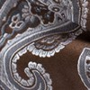 Speckled Paisley Chocolate Brown Bow Tie