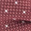 Vinyl Solid Marsala Bow Tie