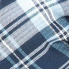 Narrative Stripe Navy Bow Tie