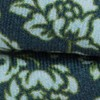 Serpentine Floral Deep Green Teal Bow Tie