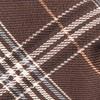 Marshall Plaid Brown Bow Tie