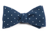 Primary Dot Navy Bow Tie
