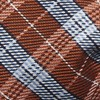 Emerson Plaid Orange Bow Tie