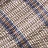 Misty Plaid Brown Bow Tie