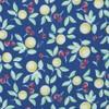 Fruit Trees Royal Blue Pocket Square