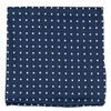 Dotted Dots Navy Pocket Square