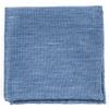 Festival Textured Solid Slate Blue Pocket Square