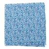 Floral Buzz Sky Blue Pocket Square