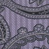 Utopia Paisley Lilac Pocket Square