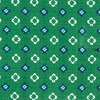 Steady Bloom Kelly Green Pocket Square