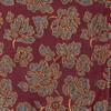 Intellect Floral Burgundy Pocket Square