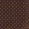 Geo Glow Chocolate Brown Pocket Square