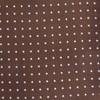 Mini Dots Chocolate Brown Pocket Square