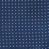 Mini Dots Navy Pocket Square