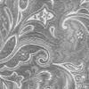 Custom Paisley Silver Pocket Square