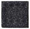 Bracken Blossom Black Pocket Square