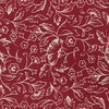Bracken Blossom Red Pocket Square