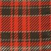 English Plaid Apple Red Pocket Square