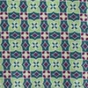 Moroccan Tile Greens Pocket Square