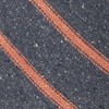 North Border Stripe Navy Tie