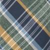 Three Lakes Plaid Hunter Green Tie