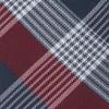 Oxford Plaid Burgundy Tie