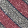 Texture Row Stripe Raspberry Tie