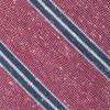 Drift Stripe Raspberry Tie
